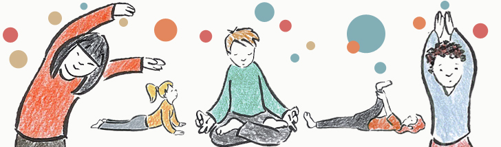 Illustration Yoga enfants Telesma